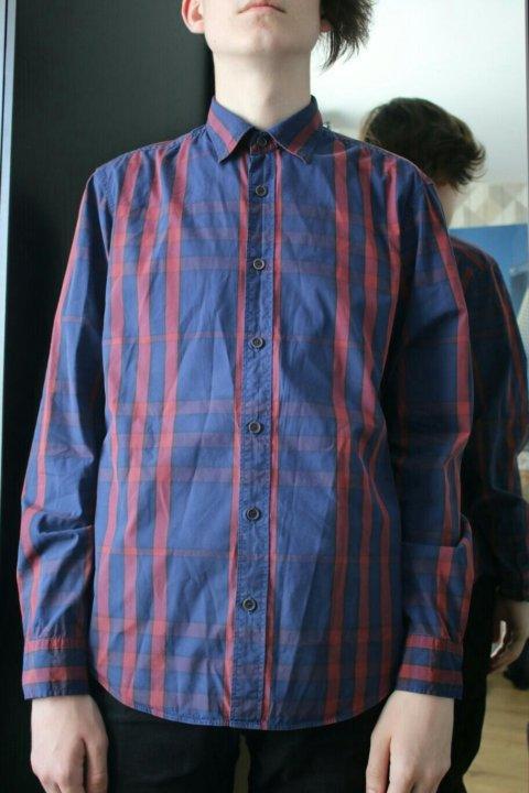 Фланелевая рубашка в клетку burberry brit. Фото 1. Санкт-Петербург. ... f5fbd2d7edc