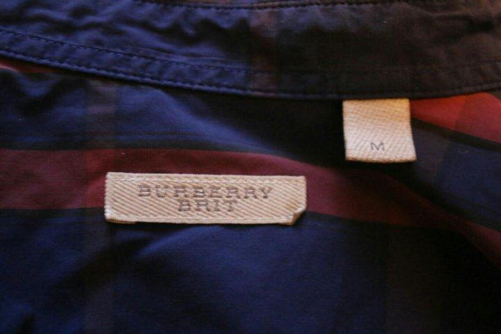 Санкт-Петербург. Фланелевая рубашка в клетку burberry brit. Фото 3. 964887de532