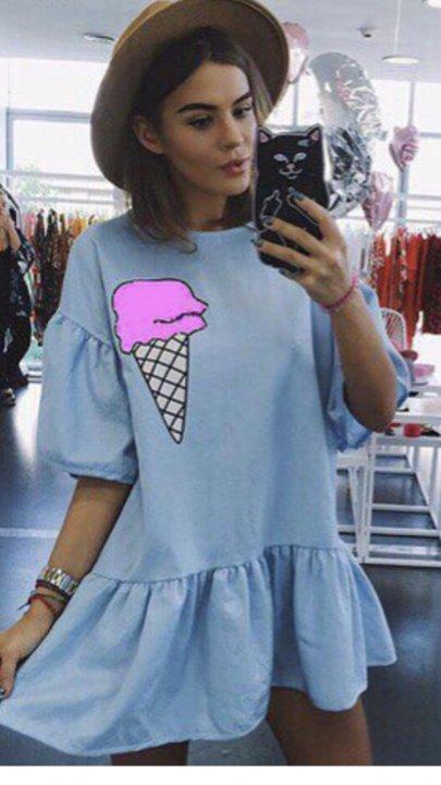 городе оцути платье с мороженым фото радиусные мдф фрезеровкой