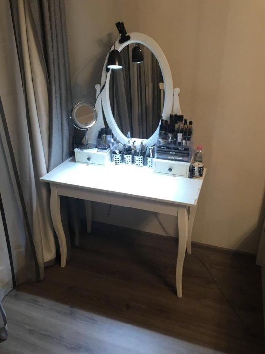 туалетный стол Ikea хемнэс купить в москве цена 3 000 руб