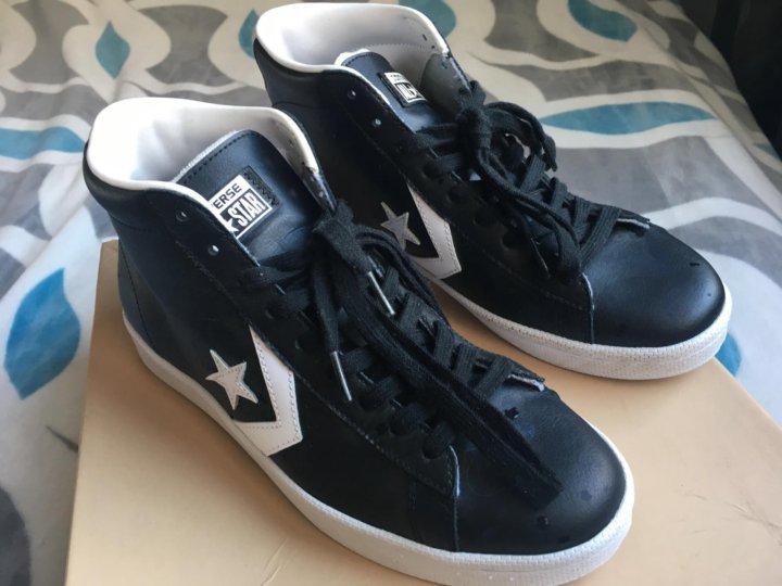 Кеды кожаные Converse all Star 42 размер ОРИГИНАЛ – купить в Москве ... 36000bc7253b8