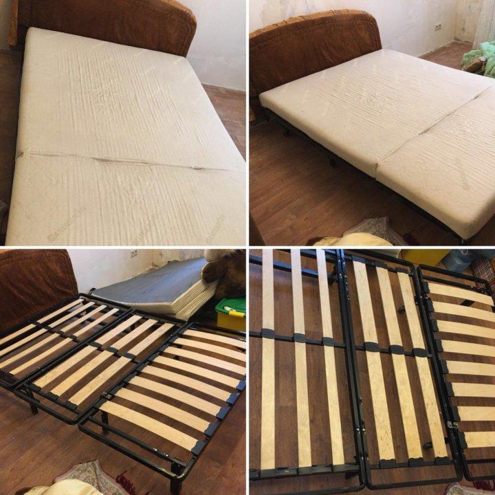 диван кровать бу механизм аккордеон купить в пушкино цена 5