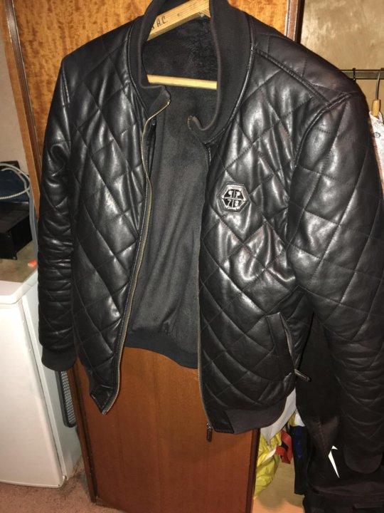 72bdda29346d куртка мужская philipp plein б/у – купить в Москве, цена 2 000 руб ...