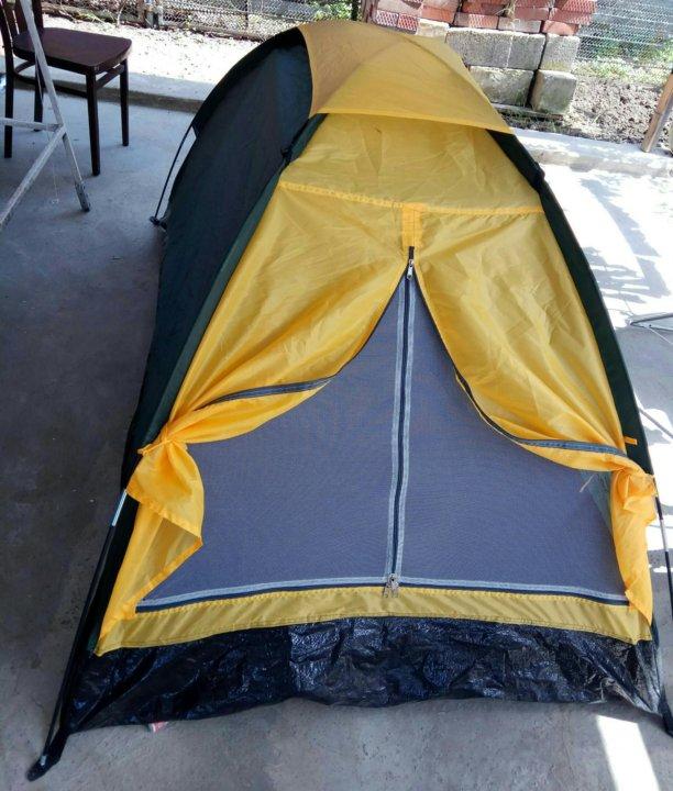 В палатке на природе частное фото — 2