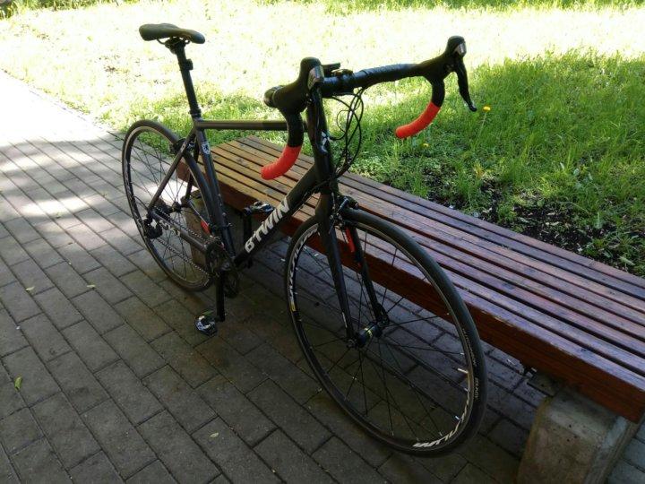 BTWIN TRIBAN 540 шоссейный велосипед размер L – купить в Москве