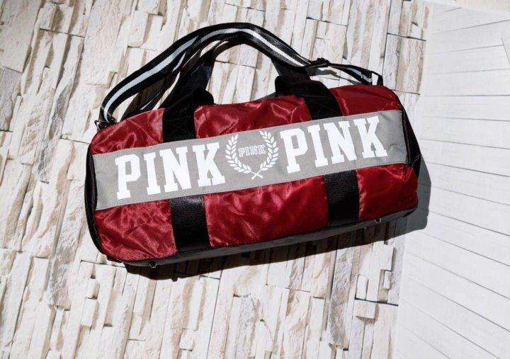 8bf5f117a303f Спортивная сумка Victoria's secret pink – купить в Москве, цена 1 ...