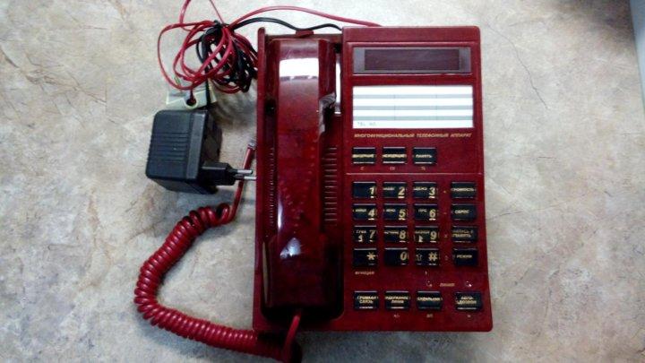 171d517ce2245 Телефон-АОН НЕВА РУСЬ-28 Соната, красный мрамор – купить в Санкт ...