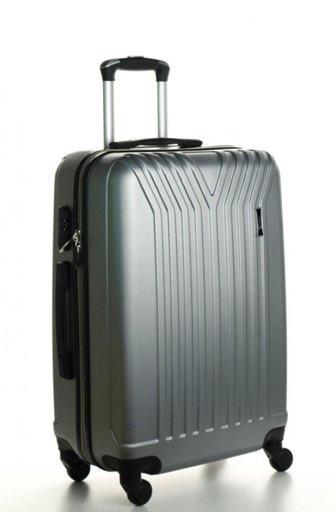 bd21e2e616db Чемодан пластиковый Top Travel Trident - grey (M) – купить в Санкт ...