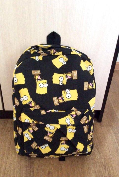 Модный молодежный рюкзак Барт Симпсон – купить в Санкт-Петербурге ... 0da25de7563