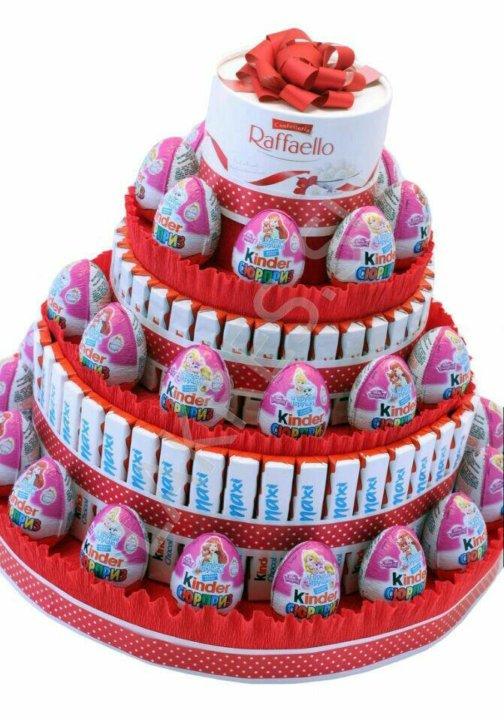 картинки с днем рождения торт из киндеров горре достались