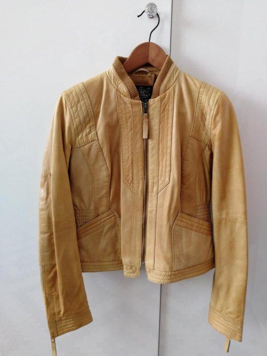 ba43693cbd8d Куртка zara, кожа – купить в Москве, цена 4 500 руб., дата ...