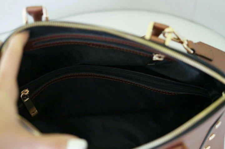 5afd84868a7d Новая кожаная сумка Gaude, Италия – купить в Ярославле, цена 5 680 ...