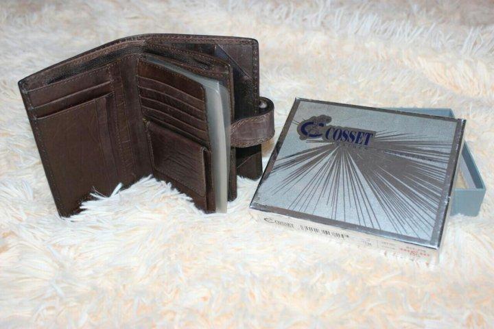 42d16331c49b Новый кожаный кошелек портмоне – купить в Санкт-Петербурге, цена 1 ...
