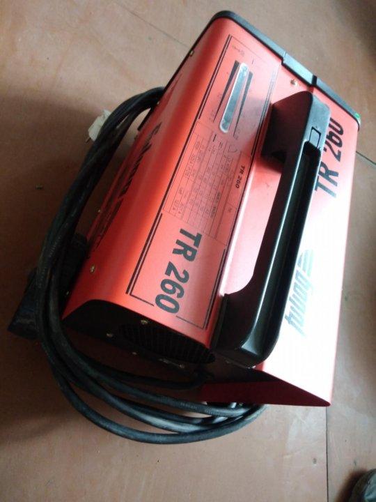 Купить сварочный аппарат fubag tr 260 сварочный аппарат митич купить