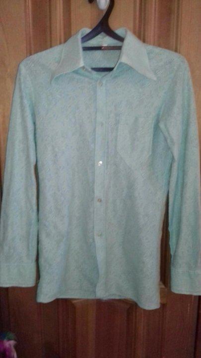 Рубашка винтаж СССР – купить в Балашихе, цена 2 000 руб., дата ... e14bb34f570