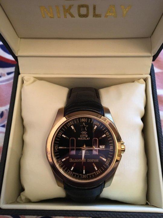 d111c89058af Мужские часы Nikolay – купить в Москве, цена 8 500 руб., дата ...