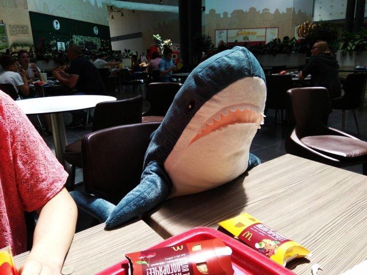 акула Ikea блохэй купить цена 3 000 руб дата размещения 1502
