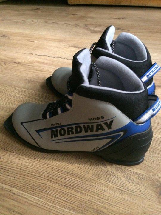 Лыжные ботинки NORDWAY – купить в Щербинке, цена 700 руб., продано ... 0375c9b6d40