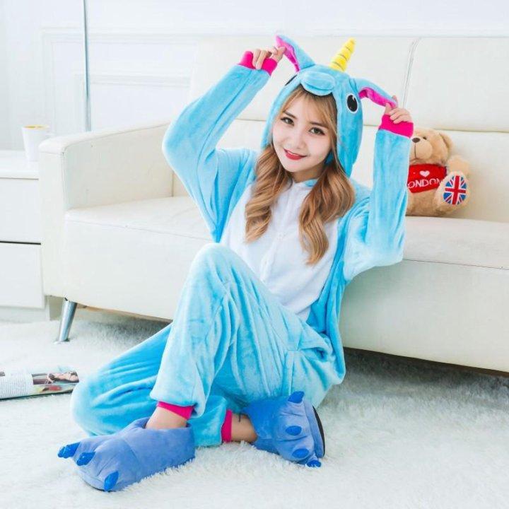Пижама кигуруми единорог небесный – купить 5e26222cf141f