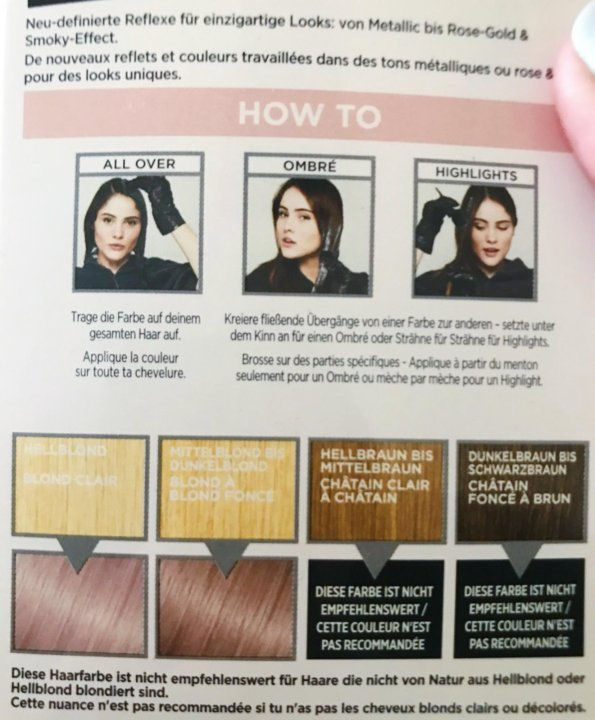 Haarfarbe loreal preference ombre