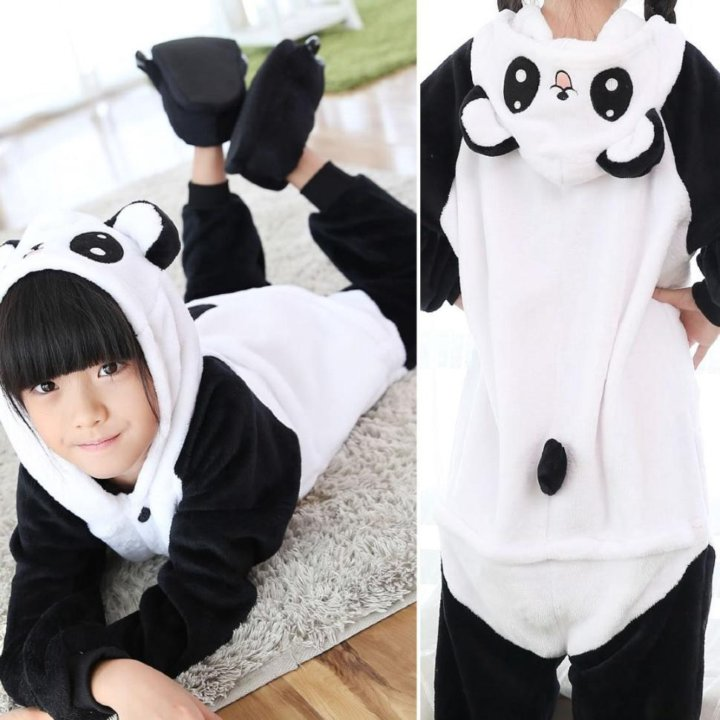 Красногорск. Пижама кигуруми панда весёлая 7dd736ba6d83e