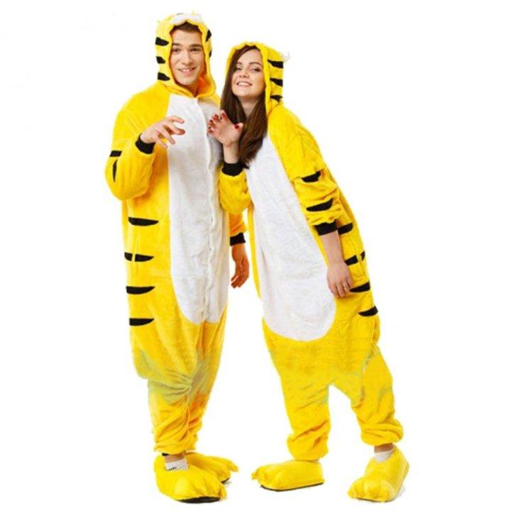 Кугуруми пижама тигр жёлтый – купить 3dd890b027e8c