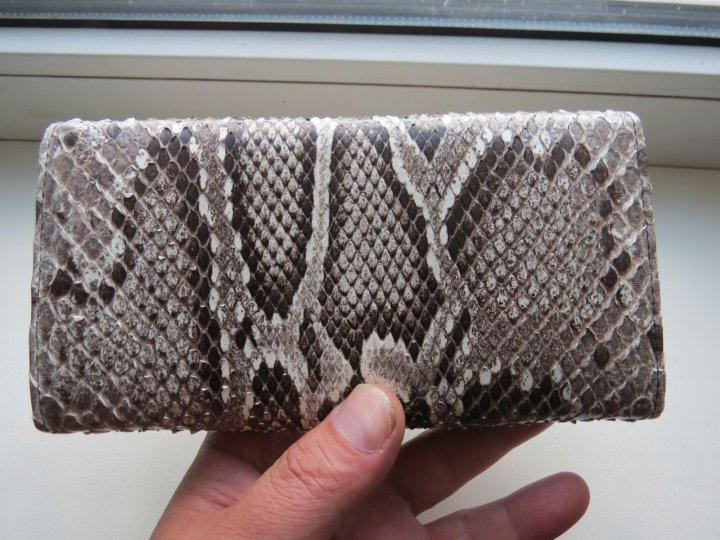 7d6730092416 Кошелёк из змеиной кожи(Питон) – купить в Курске, цена 3 500 руб ...