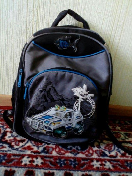 49aa168637df Школьный портфель. – купить в Майкопе, цена 550 руб., дата ...