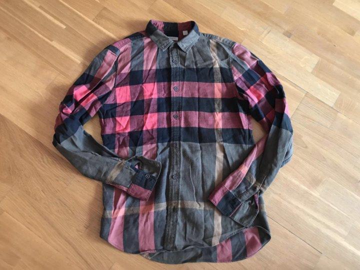 4618481aee5 Мужская рубашка burberry Brit – купить в Москве