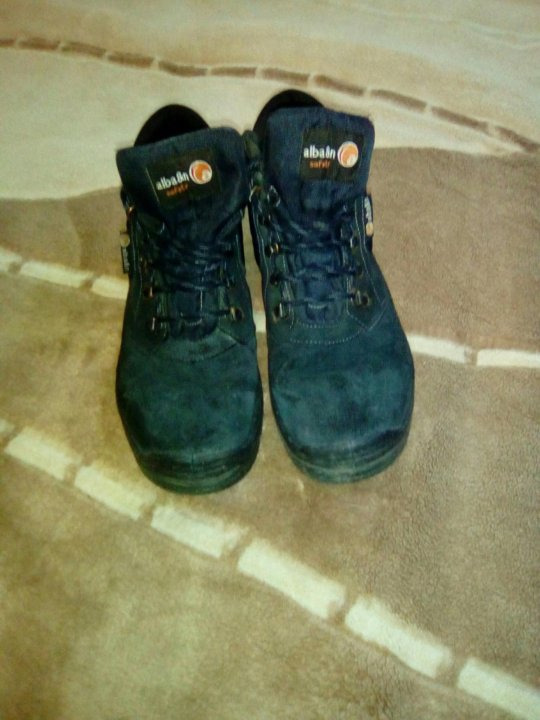 Ботинки мужские alba \u0026 n safety