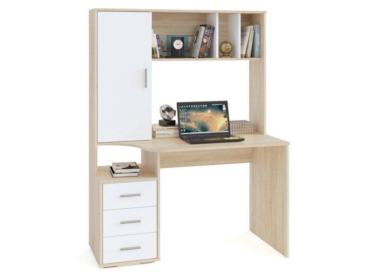 письменный стол с ящиками и полками фото