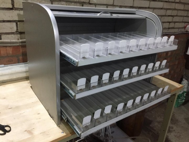 Диспенсеры для сигарет купить в спб как понять что закончилась одноразовая электронная сигарета
