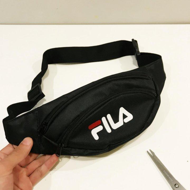 7b1733bb54ae Fila на пояс барсетка поясная сумка черная фила – купить в Москве ...
