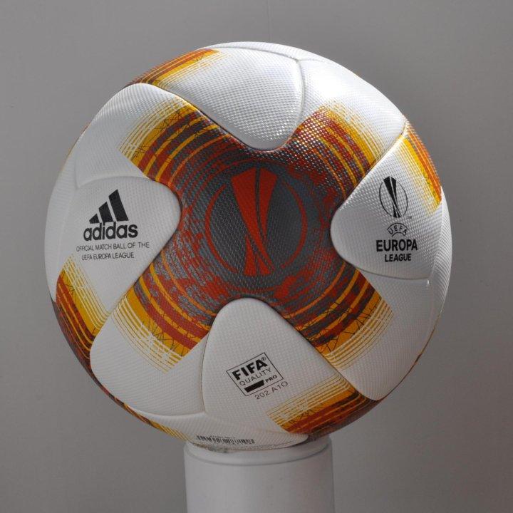 Новый футбольный мяч Adidas Лига Европы 2017-18 – купить в Москве ... aabbc4912449d