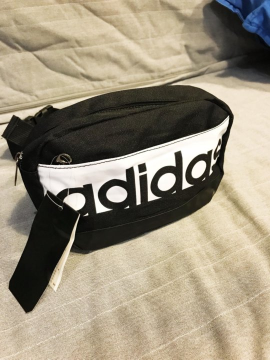 7da07a9a8cab Сумка через плечо и на пояс Adidas барсетка черная – купить в Москве ...