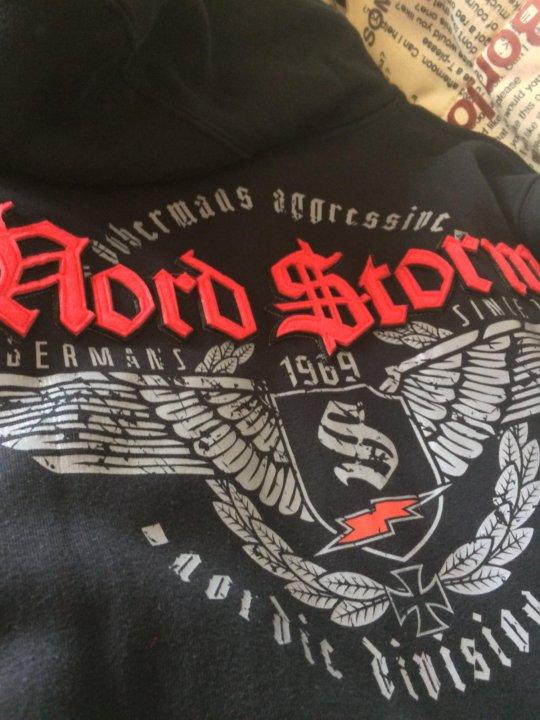 """c8ca3b51 Толстовка Dobermans aggressive """"Nord storm"""" новая – купить в Москве ..."""