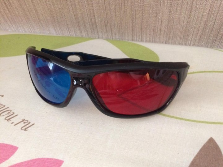 3D очки анаглиф – купить в Екатеринбурге 2bfa271de318a