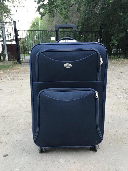 686d99d7d87e Новый большой дорожный чемодан – купить в Москве, цена 2 490 руб ...
