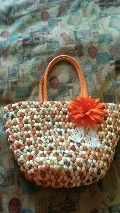 Пляжная соломенная новая сумка – купить в Москве, цена 800 руб ... 1c963bf1246