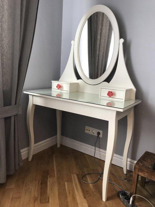 хемнэс туалетный столик с зеркалом икея купить в санкт петербурге