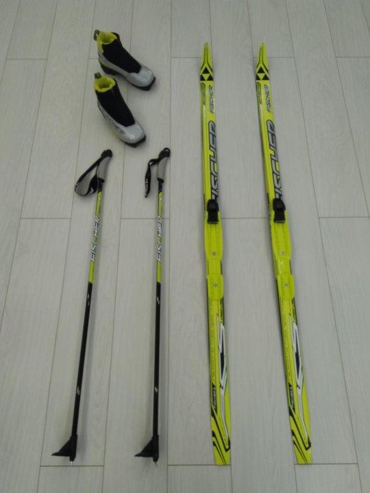 19c9c08c5e6d Детские лыжи беговые Fischer Sprint Crown (140 см) – купить в Москве ...