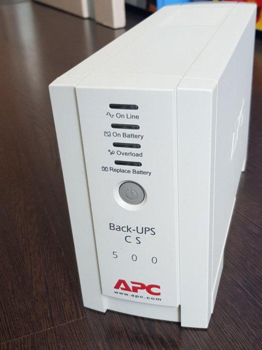 ИБП APC Back-UPS CS 500 – купить в Москве, цена 900 руб
