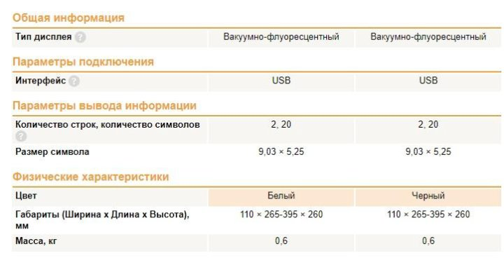 posiflex pd-2800 320 series pole display – купить в Одинцово