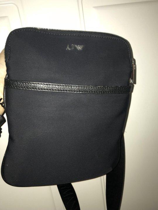 aa51d46bda83 Armani мужская сумка – купить в Санкт-Петербурге, цена 2 500 руб ...