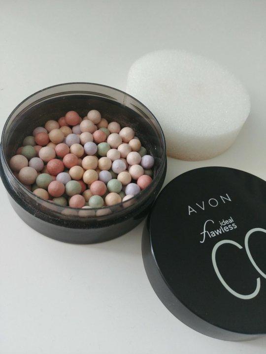 Avon пудра-шарики с корректирующим эффектом бекка косметика купить в новосибирске