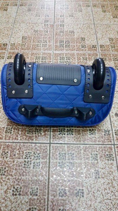 89c82b2e0fc8 Дорожная сумка-чемодан на колёсах DLIGO – купить в Москве, цена 2 ...