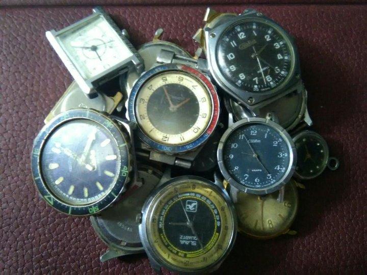 Мужские часы слава кварц ссср фото