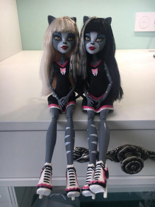Картинки кукол монстер хай мяулодия и пурсефона