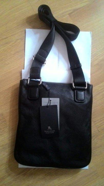 Новая сумка FRANCESCO MARCONI (бирки, чек) – купить в Москве, цена 3 ... f4c9b124bac