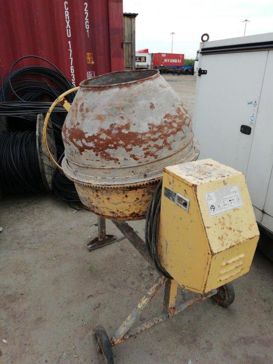 бетономешалка сбр 260